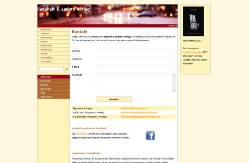 asphalt & anders Verlag