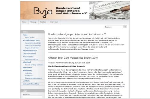 Bundesverband junger Autoren und Autorinnen e.V.