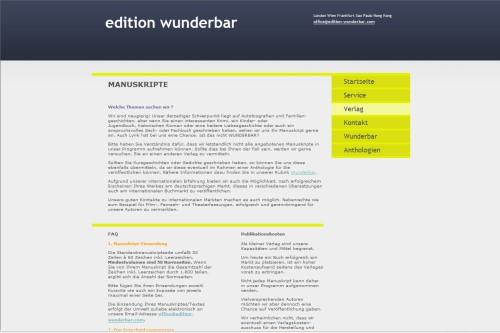 edition wunderbar