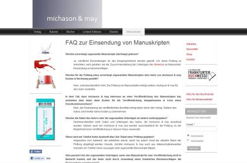 Michason & May Verlagsgesellschaft UG