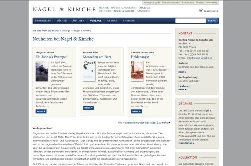 Verlag Nagel & Kimche AG