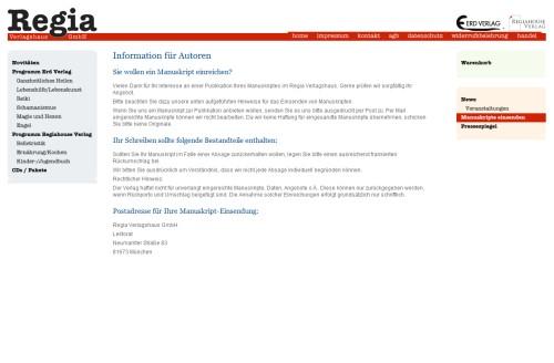 Regia Verlagshaus GmbH