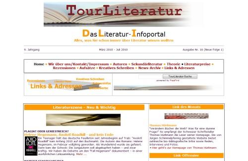 TourLiteratur